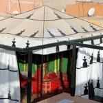 Zelt auf der unteren Dach-Terrasse - Shisha & mehr
