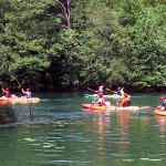 Great sport on the river Mrežnica in Croatia