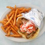 giant gyros and fries