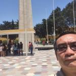 Obelisco y fuente