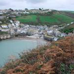 View of Port Isaac Harbour from Hathaway House