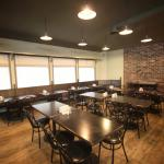 newly renovated coffee shop/ dining area