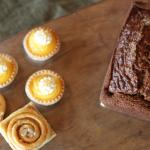 We offer a variety of scratch-made baking, in house! Can be custom ordered