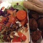 Quick Falafel Lunch Box To Go