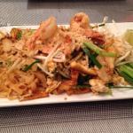 Pad Thai aux crevettes et poulet