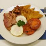 Bacon & Eggs Cooked to order