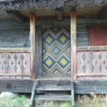 decorazioni di una capanna
