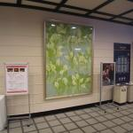 Painting in foyer