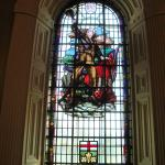 Commemorative stained glass windows for WW I