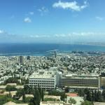 View of the Haifa Port from the room
