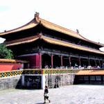 Пекин. Дворец Небесной Чистоты в Запретном Городе.