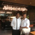 With chef Naresh