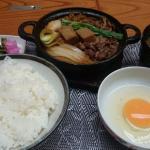 すき焼き鍋御膳