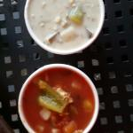 The red chowder is the winner of the 2!
