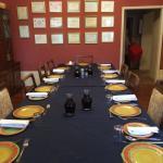La table est très bonne chez Jenny et Bryan