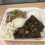 Teriyaki Beef and Kalua Pork