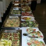 Ottimi bouffet per banchetti-cerimonie-weinachtfeier prezzi da concordare con lo chef