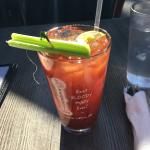 """Bloody Mary.  Their tagline """"best bloody mary in town"""" is a joke!"""