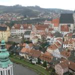 Ausblick von der Burg auf die Altstadt