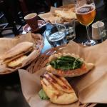 sandwich a la truite