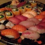 Assorted Party Platter of Sushi & Sashimi Set