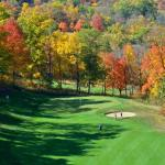 The 14th Hole on The General during fall season