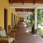 Seating Outside Guestrooms, Gardens & Pool