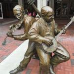 Downtown statues
