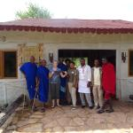 Fabulous Staff and Masai Warriors
