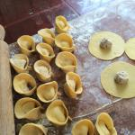 ravioli fatti in casa (home made)