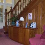 Arrandale Guest House reception
