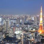 夜景モードで撮った東京タワー