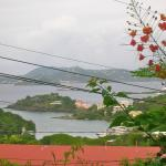 View of Cruz Bay and St. Thomas from India