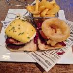 The Raglan burger