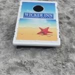 Corn hole by the beach