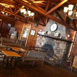 Main Lodge, Fireplace lobby