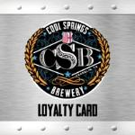 Join the CSB Loyalty Programme (no charge to join)