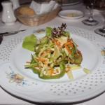 Salad at the Cuban a la carte
