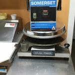 "Our Somerset 18"" dough press preps a large 16"" dough in under 3 seconds!"
