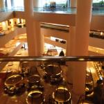 View from 4th floor to atrium
