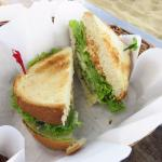 A veggie sandwich