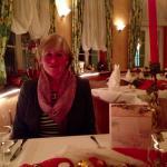 Sehr schönes, gediegenes ovales Restaurant!