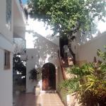 escaleras para las habitaciones