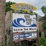 You do feel you are at the beach, in Kona!