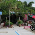 An inviting place along Pinapple Avenue in downtown Jensen Beach