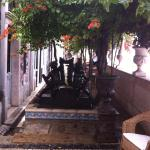 Palacete Chafariz D'El Rei-varanda