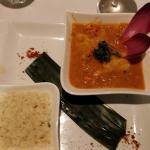 cari de poisson - riz