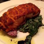 Crab Crusted Salmon