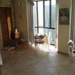 salle du petit déj: une vue et un soleil matinal idéal