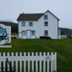 Tickle Inn on a grey, Newfoundland day